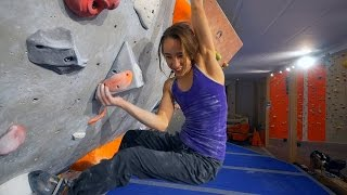 We Are Finally Climbing With Kajsa Rosén! by Eric Karlsson Bouldering