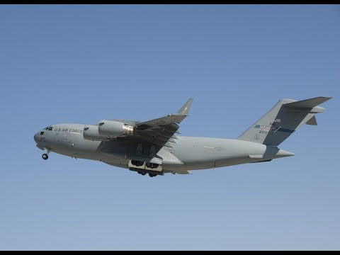 Take off - Boeing C-17 Globemaster...