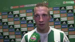Interviews nach der Stadioneröffnung und dem 2:0 Rapids gegen den FC Chelsea