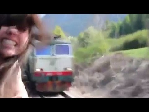 Girl Nearly Beheaded By Oncoming Train Commentary