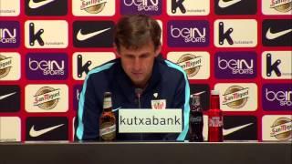 Rueda de prensa de José Ángel Ziganda tras el Bilbao Athletic (0-1) Elche CF