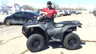 10. The 2019 Honda Rubicon 500 ATV