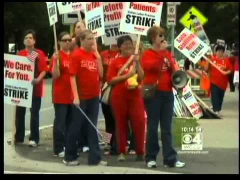 Labor Strike - Watch WCCO TV's story on Labor Unions and Strikes featuring the 2010 one-day strike by 12000 MNA RNs. Learn more about the Minnesota Nurses Association onli...