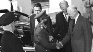 Dwight D. Eisenhower-Felicitaciones A Haile Selassie I Por 25 Aniversario Como Emperador De Ethiopia