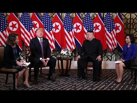 Η συνάντηση Τραμπ -Κιμ στο Βιετνάμ