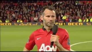 Abschied: Ryan Giggs bedankt sich bei United-Fans