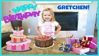 GRETCHEN'S 3RD BIRTHDAY | FAMILY VLOG | THE WEISS LIFE