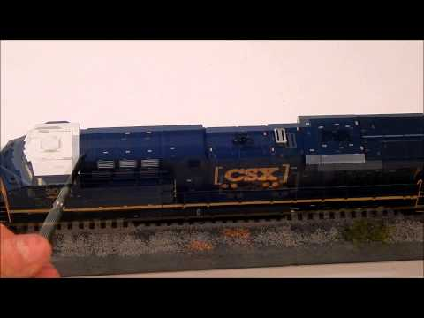 ES44AC - I just want to start off by saying that my main skill set is filming trains, not product reviews. However, when I get a model I try my best to show the poten...