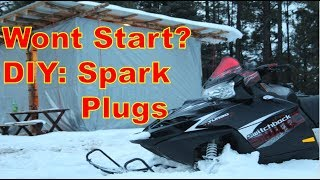 9. Polaris Switchback Turbo Spark Plug Change
