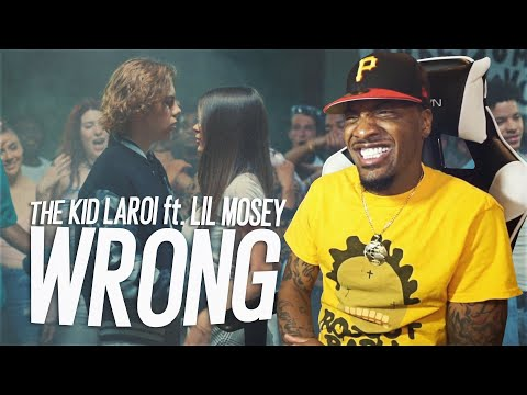 HE MAKING JUICE WRLD PROUD! | The Kid LAROI - WRONG ft. Lil Mosey (REACTION!!!)