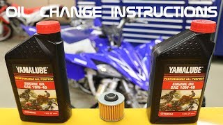 5. How to Change Oil on any 4 stroke ATV or Motorcycle