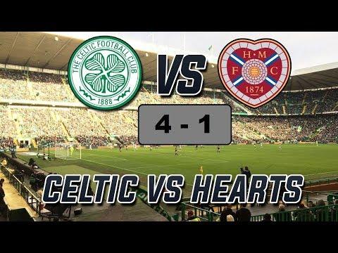 Celtic 4 - 1 Hearts | All Goals & Highlights  SPFL 05/05/2017