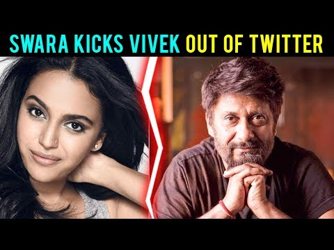 Swara Bhasker Ugly Fight With Vivek Agnihotri On T