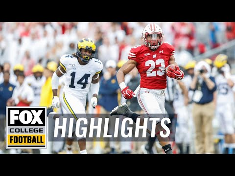 Video: Watch Jonathan Taylor's highlights & postgame interview | FOX COLLEGE FOOTBALL HIGHLIGHTS