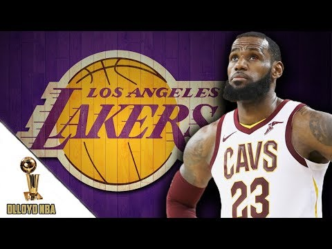 Los Angeles Lakers Favorites To Sign LeBron James This Offseason!!!   NBA News