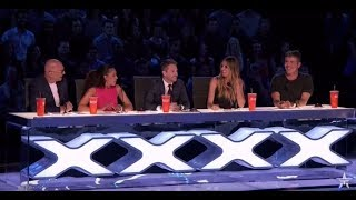 """#Full Segment  America's Got Talent Season 12  Judge Cuts 1  Episode 8#talentshowsFor more HD full episode videos of America's Got Talent – please subscribe & follow» Get The America's Got Talent App: http://bit.ly/AGTApp» Subscribe for More: https://goo.gl/e12UJ8» America's Got Talent Returns Tuesday May 30 8/7c on NBC!» Watch Full Episodes Free: http://bit.ly/AGTFullEpisodesAMERICA'S GOT TALENT ON SOCIALLike AGT: https://www.facebook.com/agtFollow AGT: https://twitter.com/agtAGT Tumblr: http://nbcagt.tumblr.com/AGT Instagram: http://instagram.com/agtIn season 12, NBC's America's Got Talent follows Simon Cowell, Heidi Klum, Mel B and Howie Mandel in their talent search, showcasing unique performers from across the country. Find America's Got Talent trailers, full episode highlights, previews, promos, clips, and digital exclusives here. NBC ON SOCIALLike NBC: http://Facebook.com/NBCFollow NBC: http://Twitter.com/NBCNBC Tumblr: http://NBCtv.tumblr.com/NBC Pinterest: http://Pinterest.com/NBCtv/NBC Google+: https://plus.google.com/+NBCYouTube: http://www.youtube.com/nbcNBC Instagram: http://instagram.com/nbcABOUT AMERICA'S GOT TALENTWith the talent search open to acts of all ages, """"America's Got Talent"""" has brought the variety format back to the forefront of American culture by showcasing unique performers from across the country. The series is a true celebration of the American spirit, featuring a colorful array of singers, dancers, comedians, contortionists, impressionists, jugglers, magicians, ventriloquists and hopeful stars, all vying for their chance to win America's hearts and the $1 million prize.America's Got Talent 2017https://goo.gl/e12UJ8America's Got Talenthttps://goo.gl/e12UJ8"""
