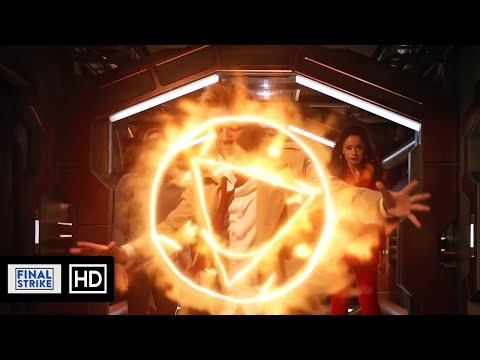 John Constantine Sends The Hell Hound Back To Hell Scene | DC's Legends Of Tomorrow 5x10