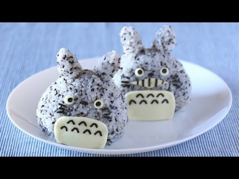 onigiri - This video will show you how to make Totoro Onigiri (Rice Balls). Rice ball is called