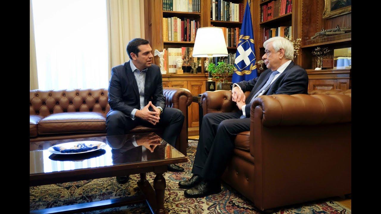 Συνάντηση με τον Πρόεδρο της Δημοκρατίας για την απόφαση του Eurogroup
