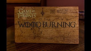 To celebrate GOT season 7 I decided to try wood burning with an iron I found in Aldi. This is the Game of Thrones Map of...