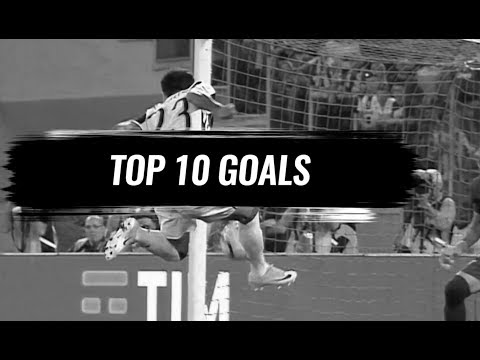 juventus - top 10 goal stagione 2016/17