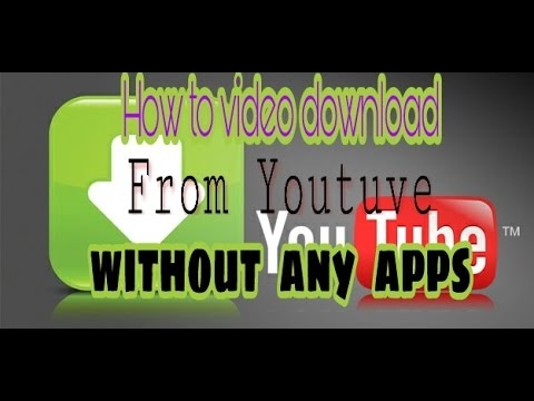 HOW TO DOWNLOAD VIDEOS FROM YOUTUVE WITHOUT ANY APPS HINDI | Youtuve Se Video Download​ Kare Hindi