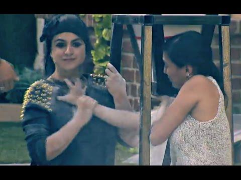 Bigg Boss 9 Episode 86 - Priya Malik gets PHYSICAL