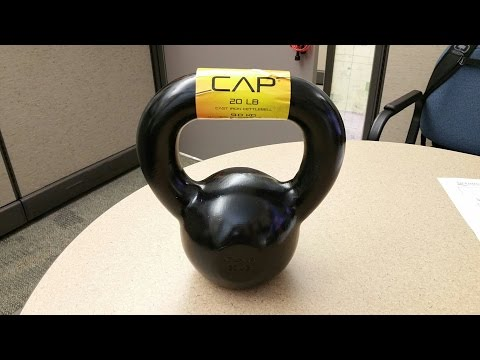 Cap 20# Kettlebell Barbell - Quality Check - Made In China