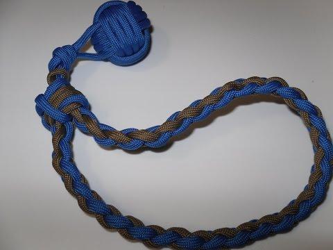 Affenfaust Knoten (Monkey Fist) aus Paracord, Knoten Anleitung in Deutsch auch als Blog