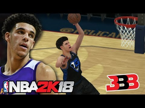 Lonzo Ball NBA 2K18 Challenge! You won't believe what happened!