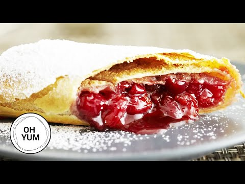 Classic Cherry Strudel | Oh Yum with Anna Olson