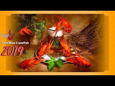 Tiền Mùa Crawfish 2019 (đặc sản của Louisiana, Mỹ) - Thời lượng: 37 phút.