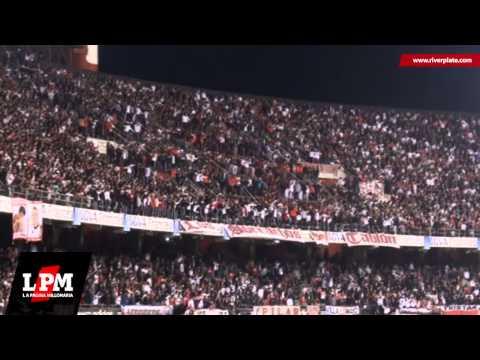 Video - Llega el domingo voy a ver al campeón - River vs. San Lorenzo - Copa Sudamericana 2013 - Los Borrachos del Tablón - River Plate - Argentina