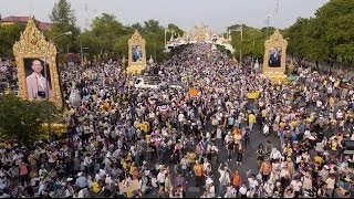 Drone Films Huge Thailand Protest Crowds - BBC News
