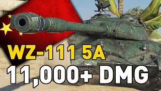 """World of Tanks - WZ-111 5A. Today ProofeG of the RU server is going to show you what the brand new T10 Chinese heavy, the WZ-111 5A, is capable of!SUBSCRIBE for more videos!: ►https://goo.gl/5VIiJnT-SHIRTS: ►https://goo.gl/s2OINqLIVESTREAMS: Tuesdays, Thursdays and Sundays for 5 hours+ Starting @ 18:00-CET / 17:00-GMT / 12:00-EST►http://www.twitch.tv/quickybabyTwitter ►http://www.twitter.com/quickybabyFacebook ►http://www.facebook.com/quickybabyI'm partnered with G2A, get the latest games at the best prices! ►3% cashback using MY code: ►BABY◀ https://www.g2a.com/r/quickybabyQuickyBaby's FAQ►https://goo.gl/4Mi8wj___World of Tanks is a Free 2 Play online game published by Wargaming and is available as a free download here:https://goo.gl/AcgARAUse invite code """"QUICKYBABY4WOT"""" to get a T-127 with a 100% crew, 500 gold, 7 days premium, and a gun laying drive!"""