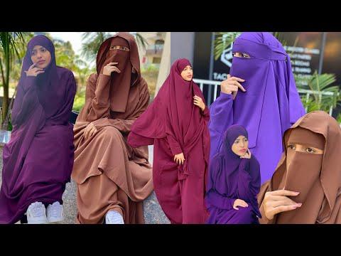Hijab style cusub iyo design qurux badan ayaa imaday fashion for Muslim girls 💫🧕 safa beauty