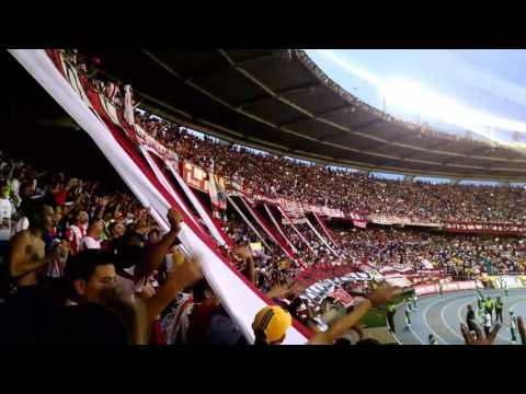 Junior vs América liga águila 2017-2  Junior nunca se vendió - Lbk tribuna norte - Frente Rojiblanco Sur - Junior de Barranquilla