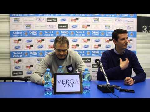 Cantù, Sergej Bazarevic pre match Virtus