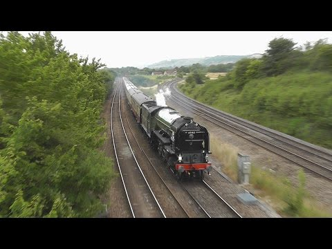 LNER 60163 'Tornado' on 'The Torbay Express' 12th July 2015