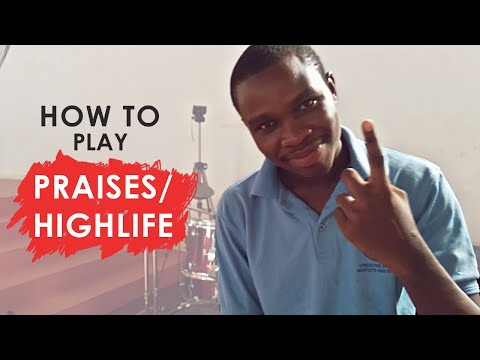 Drum Lesson - How To Play Ghanaian Praises / Highlife Part 2 | Jaystiqs