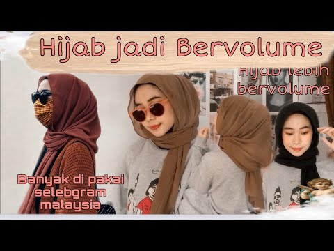 TUTORIAL HIJAB PASHMINA TERBARU 2020 | Hijab bervolume | fitri hasiani