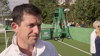 Tim Henman discusses Andy Murray's turbulent season, his prospects for this year's Wimbledon, how happy he is about Roger...