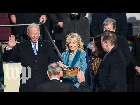 The inauguration of Joe Biden and Kamala Harris - 1/20 (FULL LIVE STREAM)