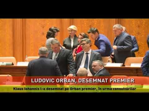 Klaus Iohannis l-a desemnat pe Orban premier, în urma consultărilor