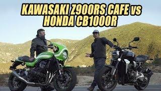 8. Cafe Society Shootout: Honda CB1000R vs Kawasaki Z900RS Cafe