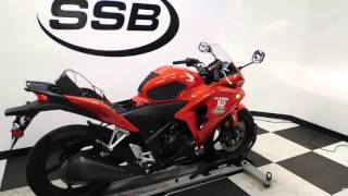 10. 2013 Honda CBR250R ABS Red - used motorcycle for sale - Eden Prairie, MN