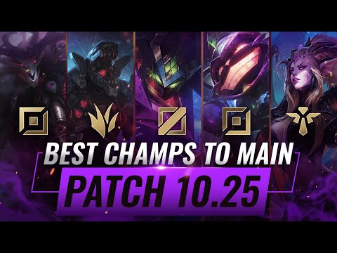 3 BEST Champions To MAIN For EVERY ROLE in Patch 10.25 - League of Legends Preseason 11