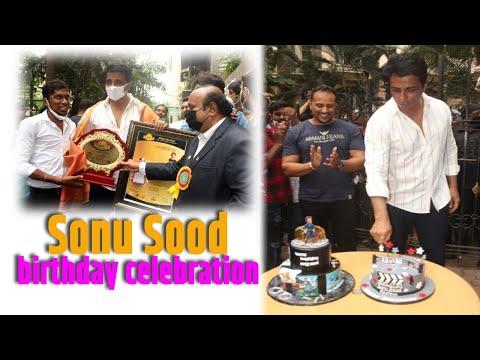 Heres how Sonu Sood celebrated his birthday
