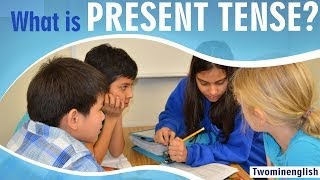 "Present tense is one of three basic verb tense forms in English. It is used for any action or event taking place in the present. In the present tense, It's important for the subject and the verb to match in number. That is, a singular subject needs a singular verb, and a plural subject needs a plural verb. There are important exceptions to this rule, though, and that's for I and you. I and you, even though they're singular, take a plural verb. This lesson has examples and sample conversations which will help you understand how to use the present tense of verbs and make sure they match the subject. If you like this lesson, please click the ""like"" button on the YouTube video and subscribe to our channel for more lessons.Stay updated via Facebook: http://facebook.com/twominenglishPlease visit our website for more lessons, articles and exercises : http://twominenglish.comDownload our Android phone App : https://play.google.com/store/apps/details?id=com.astrobix.twominuteenglish"