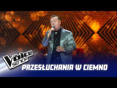 """Andrzej Szpak - """"Oh, Pretty Woman"""" - Przesłuchania w ciemno - The Voice Senior 2"""